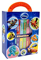 12-Book Library: Disney Characters