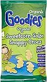 Organix Goodies Organic Sweetcorn Salsa Snappy Crocs 12mth+ (4x15g)