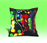 YOLO Multicolor Cushion Cover