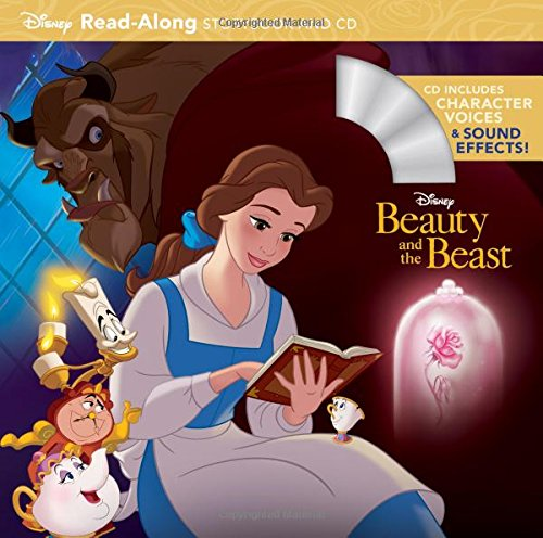 Beauty and the Beast Read-Along Storybook and CD [Disney Book Group] (Tapa Blanda)