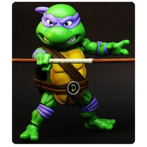 Teenage Mutant Ninja Turtles Donatello Hybrid Metal Figuration Die-Cast Metal Action Figure