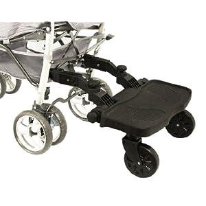 Buggyboard für nahezu alle Kinderwagen, Neues Modell