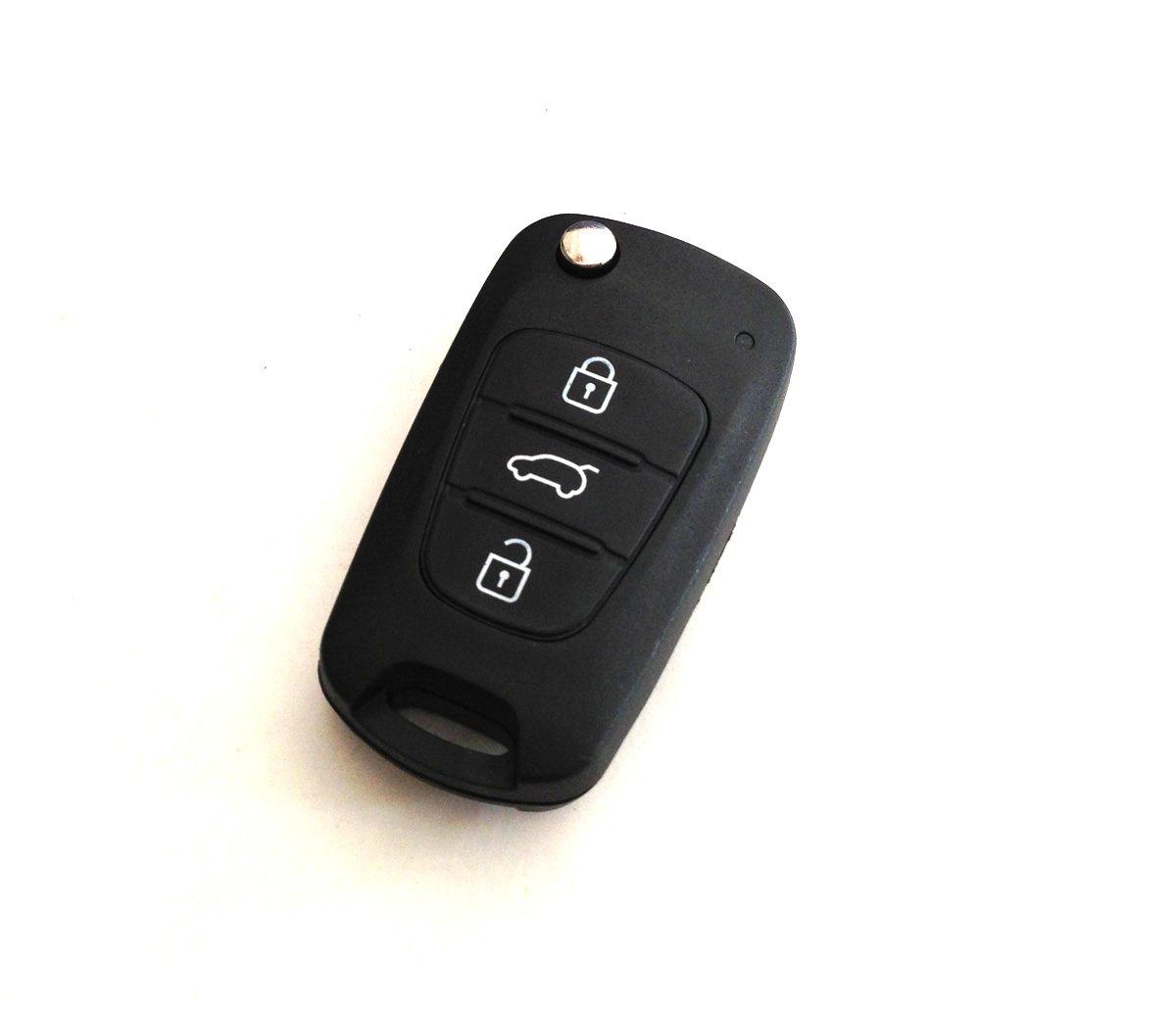 起亚智跑折叠遥控钥匙-汽车用品-亚马逊