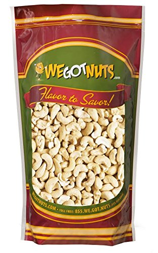 Cashews, Whole, Raw, Bulk Nuts - We Got Nuts (5 LBS.) (Raw Roasted Cashews compare prices)