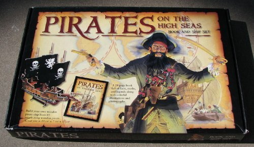 Pirates on the high seas book and ship set - 1