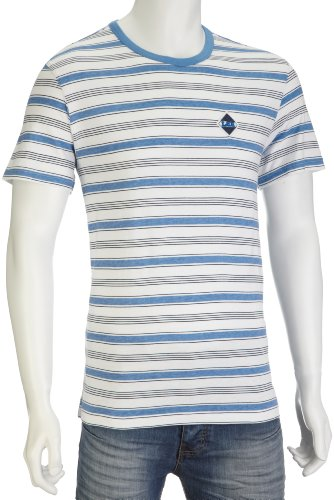 Lee Men's George T-Shirt Off White L604FH05 X-Large