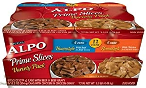 Alpo Prime Slices Homestyle Variety Pack Beef And Chicken Flavors Can