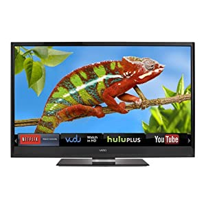 VIZIO M420KD 42-Inch Edge Lit Razor LED LCD HDTV with VIZIO Internet Apps (Black) (2012 Model)