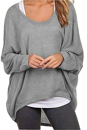uget-womens-casual-oversized-baggy-off-shoulder-shirts-pullover-tops-asia-l-gray