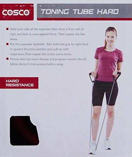 Cosco Hard Toning Tube, 120cm (Red)