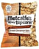 Metcalfe's skinny topcorn, Sweet Cinnamon Spice flavour (12 packs)