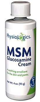 Отзывы PhysioLogics - MSM and Glucosamine Cream 4 oz