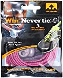 NATHAN Lock Laces, Purple/Pink