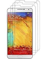 3x film de protection pour écran Samsung Galaxy Note 3 N9000 / N9005 TRANSPARENT. Qualité supérieure signée kwmobile