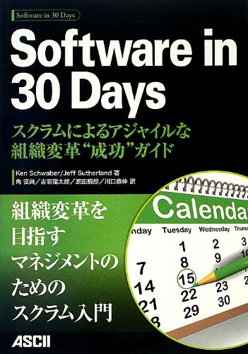 Software in 30 Days スクラムによるアジャイルな組織変革