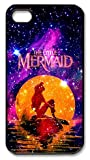 CreateDesigned The Little Mermaid Snap on Case Cover for Apple Iphone 4/4s TPU Case I4CD00607