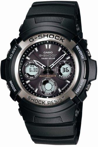 CASIO (カシオ) 腕時計 G-SHOCK タフソーラー 電波時計 MULTI BAND5 AWG-100-1AJF