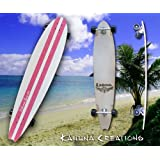 Kahuna Creations Retrofish Beach Board Retro Pink 48