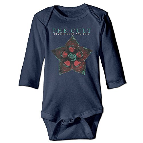 Lovely The Cult Beyond Good And Evil Baby Onesie Newborn Bodysuit (Cult Music Without Fear compare prices)