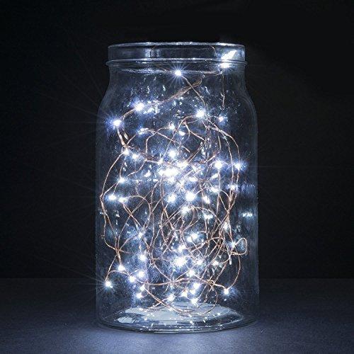 Ilovediy Lichterkette Kupferdraht Gdealer 2 Meter 20 Led Sternklar