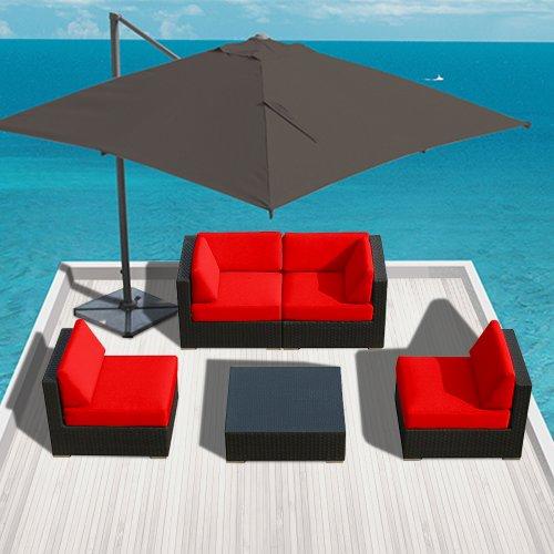 Genuine Luxxella Outdoor Patio Furniture Wicker