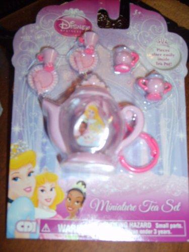 Disney Princess Miniature Tea Set