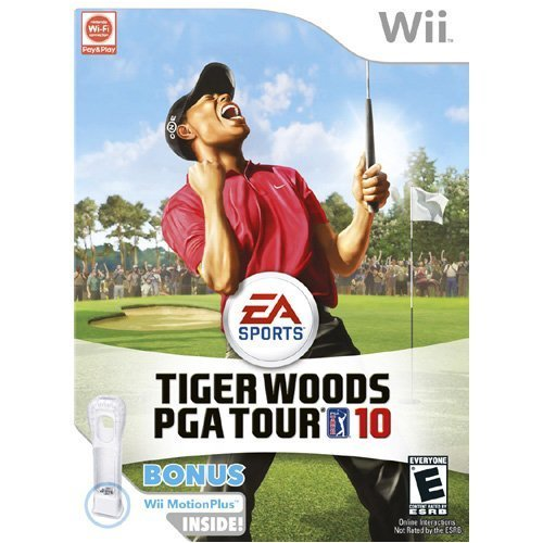51OIs7Dnp3L Tiger Woods PGA Tour 10 (Wii MotionPlus Bundle) (Nintendo Wii)