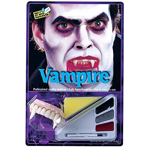 Vampire Halloween Make Up Costume Kit
