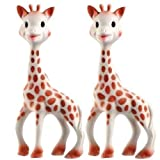 Vulli Sophie the Giraffe Teether Set of 2 ~ Vulli
