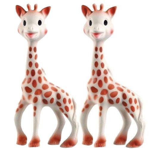 Imagen de Vulli Sophie la jirafa Mordedor Set de 2