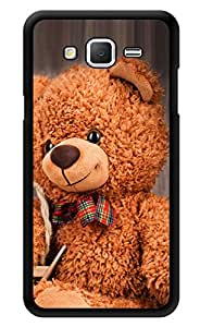 "Humor Gang Cute Soft Teddy Bear Printed Designer Mobile Back Cover For ""Samsung Galaxy j2"" (3D, Glossy, Premium Quality Snap On Case)"