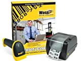 Wasp Inventory Control Standard Plus WWS550i Scanner Plus WPL305 Barcode Printer