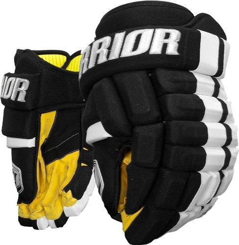 Warrior-Junior-Bonafide-Hockey-Glove-BlackWhite-11-Inch