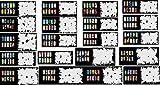 Airbrush-Schablone, wiederverwendbar, 400 DESIGNS, 20 Blatt,...
