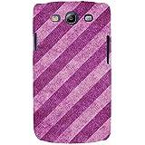 For Samsung Galaxy S3 I9300 :: Samsung I9305 Galaxy S III :: Samsung Galaxy S III LTE Stripes Pattern ( Stripes Pattern, Stripes, Nice Pattern, Clothe ) Printed Designer Back Case Cover By FashionCops