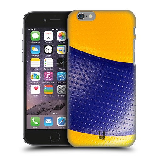 Head Case Designs Volleyball Ball Collection Protective Snap-on Hard Back Case Cover for Apple iPhone 6 4.7
