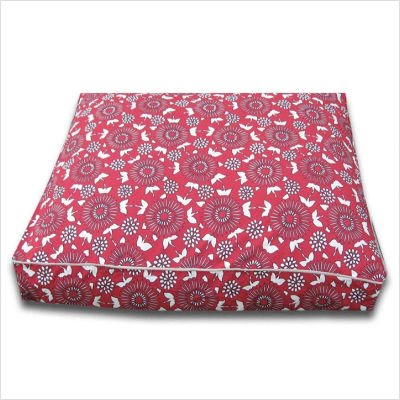 Large Rectangle Blossom Dog Bed