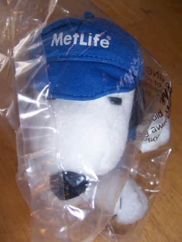 retired-peanuts-charlie-brown-5-inch-nascar-snoopy-plush-doll-by-metlife-snoopy