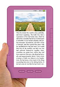 Ematic EB105P 7-Inch eReader 105 E-Book Reader with Full Colour Display (Pink)