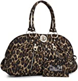 Baggallini Luggage Shanghai Satchel Silver, Leopard, One Size