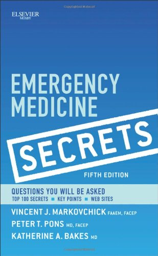 Emergency Medicine Secrets, 5E