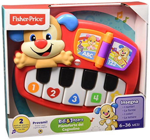 Fisher Price Infant DLD22 - Pianoforte del Cagnolino, Multicolore