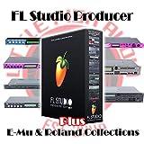 FL Studio 20 Producer + E-Mu & Roland Sample Library Super Bundle! e-Delivery!
