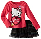 Hello Kitty Girls 2-6X Skirt Set