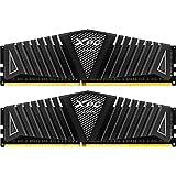 XPG Z1 DDR4 3200MHz (PC4 25600) 32GB (2x16GB) 288-Pin Memory Modules, Black (AX4U3200316G16F-DBZ) (Color: Black, Tamaño: 2x16GB)