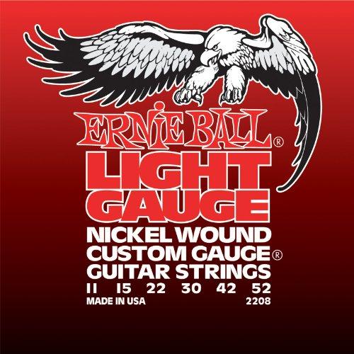 Ernie Ball Light Nickel Wound Set with wound G, .011 - .052
