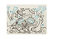 modern-twist Kids Mark-Mat Silicone Coloring Placemat, Treasure Chest by modern-twist