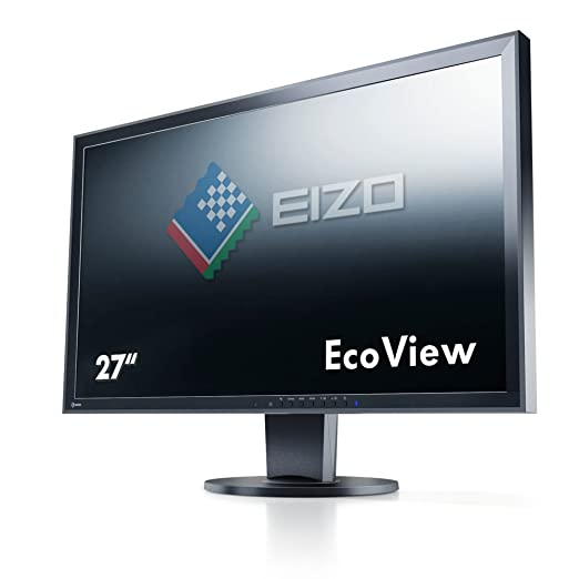 "EIZO EV2736WFS3-BK Ecran PC LED 25"" 2560x1440 DVI 6ms"