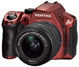 Pentax K-30 SLR Camera - Silky Red (16MP, APS-C CMOS Sensor) 3.0 inch LCD Screen with 18-55mm DAL Lens Kit