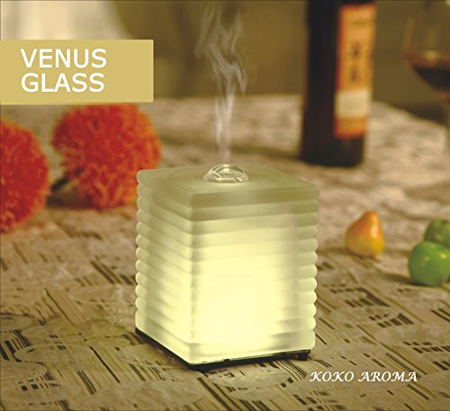 """Aromatherapy Essential Oil Diffuser Φ By Koko Aroma Φ Innovative Ultrasonic Oil Diffuser - Best Eco Technology With Soothing Warm Led Light ✪ Elegant And Stylish Spa Vapor Diffuser ✪ Your Perfect Companion - Promote Health & Wellness ✪ Free Ebook """" 10 Gre"""